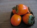 Hachiya persimmons, ripening
