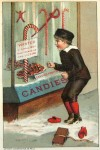 An early image of candy canes. From Wikipedia