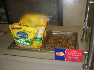 Boiled peanuts at Turner Field in Atlanta